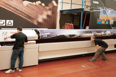 Image of Finesse Group wide format printer