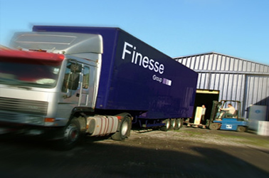 Image of Finesse Group exhibition transportation